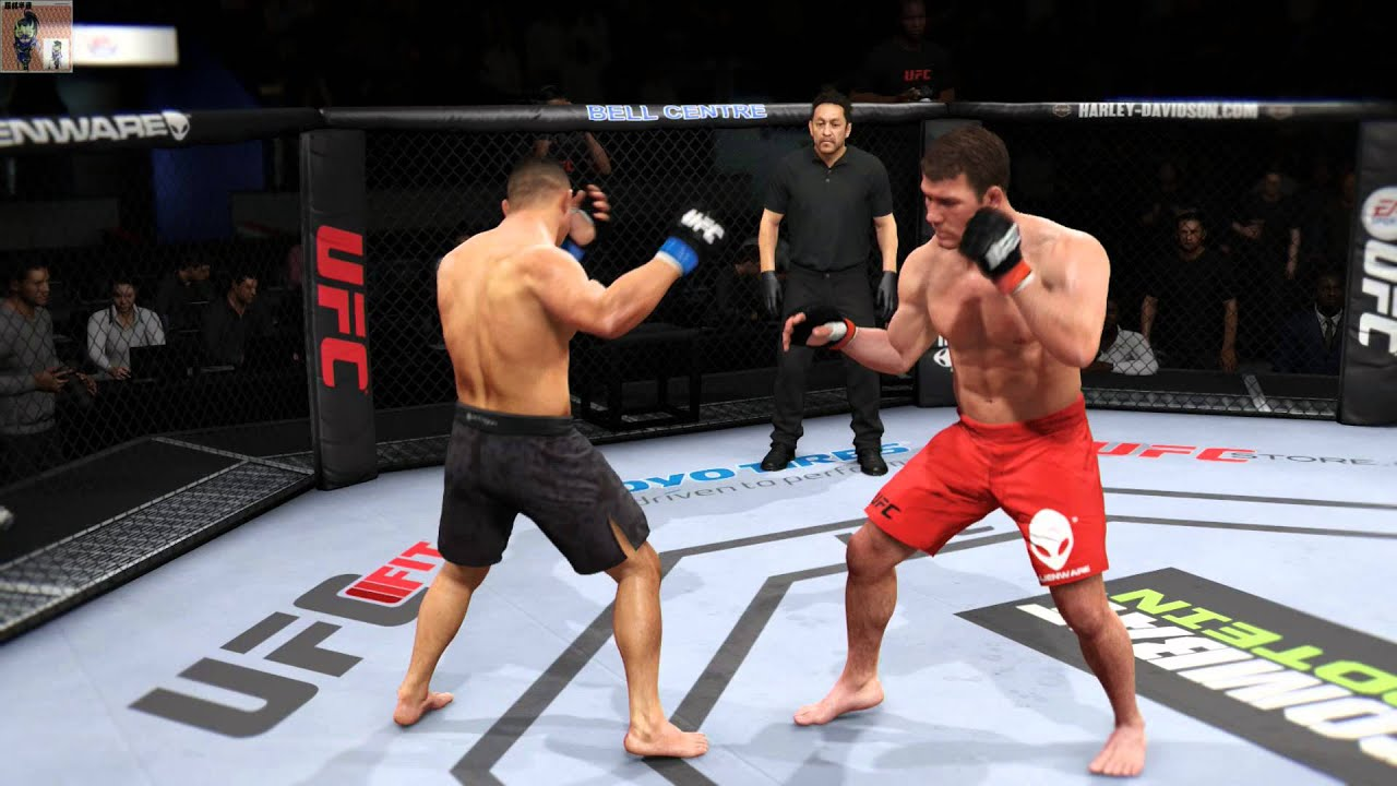 Ea Sports Ufc Ps4 Michael Bisping Vs Cung Le Youtube