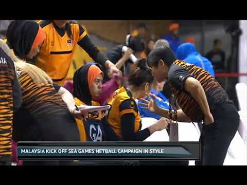 Malaysia kick off SEA Games netball campaign in style