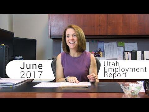 Utah Employment Report June 2017