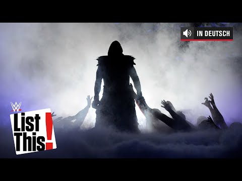 5 Rekorde, die der Undertaker hält - WWE List This! (DEUTSCH)