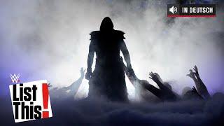 5 Rekorde, die der Undertaker hält - WWE List This! (DEUTSCH)