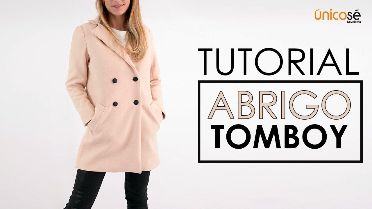 DIY tutorial costura: Abrigo Tomboy - YouTube