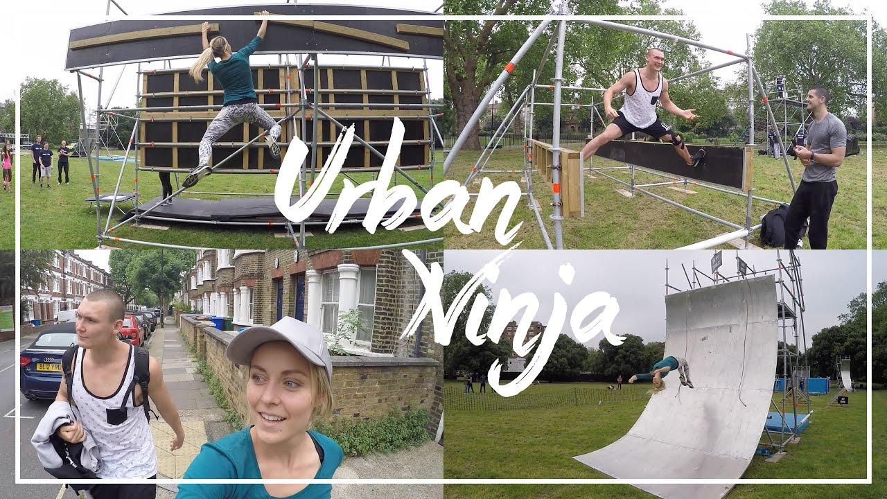 9b7b9b26dd4 Urban Ninja Obstacle Course - YouTube