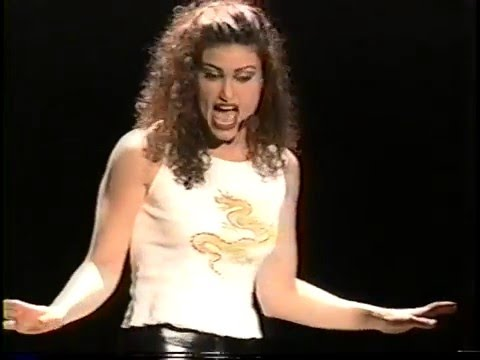 "RENT Idina Menzel/Fredi Walker ""Take Me or Leave Me""-New York Theatre Workshop '96"