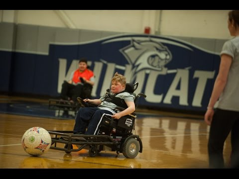 Northeast Passage and UNH Power Soccer