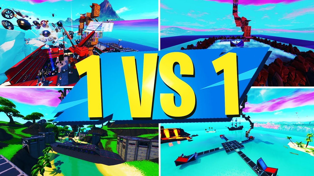 TOP 10 BEST 1 VS 1 Creative Maps In Fortnite | Fortnite ...