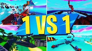 TOP 10 BEST 1 VS 1 Creative Maps In Fortnite - France Fortnite 1v1 Codes De cartes