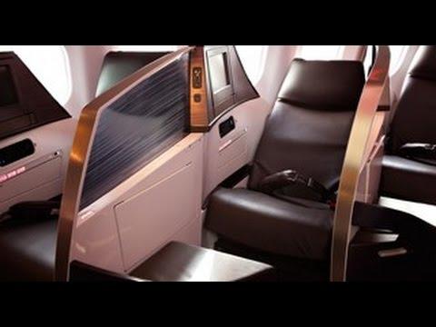 Flat Bed Sleep Suit Virgin Atlantic Upper Class EXCLUSIVE Video Review