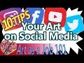 How to get your Art Noticed on Social Media