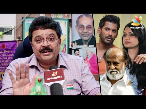 SV Sekar Against Vishal : Interview | Nadigar Sangam, Suchitra Leaks & Producer Council