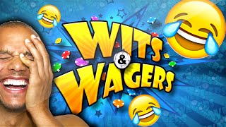 I'M A DIRTY CHEAT, BEST DANCING EVER & SHMONEY! | WITS & WAGERS