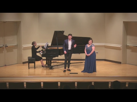 Wingate Music Department - Mimi Legall & Nathan McGee Junior Recital