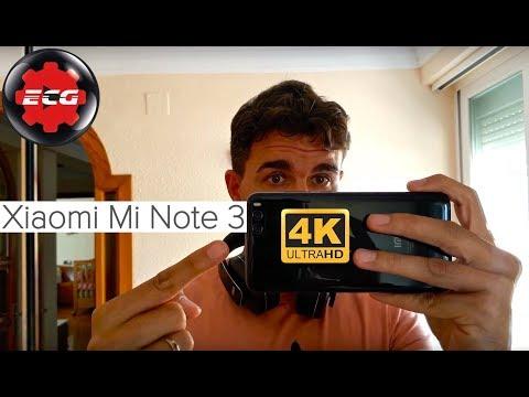 Xiaomi Mi Note 3 grabación a 4K