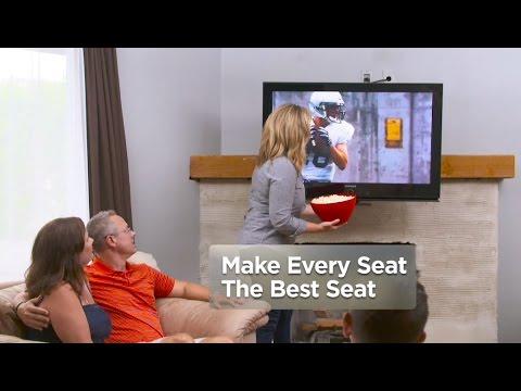 The Original MantelMount: Pull Down TV Mount™ - YouTube