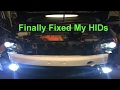 How to fix your HIDs from flickering or not turning on