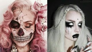 Halloween Makeup - Pretty And Scary Halloween Makeup Ideas - MUST SEE 2018 #5