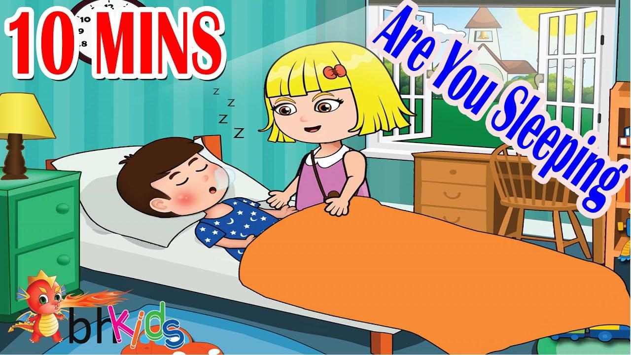 Are you sleeping Brother John - Nursery Rhymes Lyrics & Video