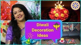 Diwali Decoration Ideas | 6 Creative & Easy Diwali Decoration Ideas | Madhumita's Real Life