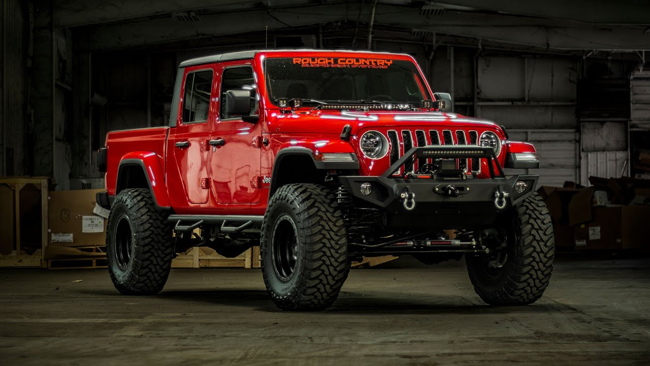 2020 Jeep Gladiator 6 Inch Lift