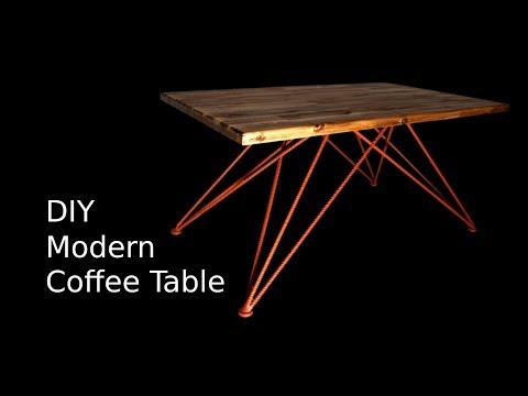 Making a Modern Coffee Table