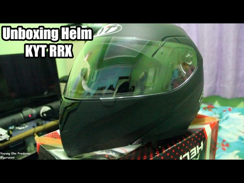 Unboxing Helm KYT RRX modular