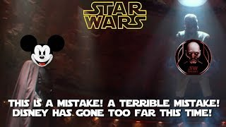 Disney gives in to fear & sinks to new low by claiming Vader Fan Film