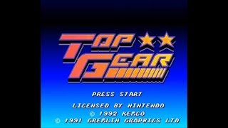 Top Gear (SNES) - Longplay