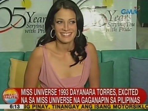 UB: Dayanara Torres, excited na sa Miss Universe na gaganapin sa Pilipinas