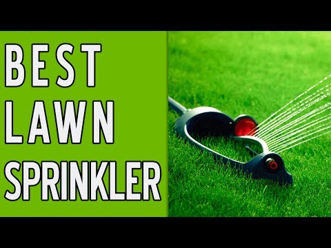 10 Best Lawn Sprinklers 2018