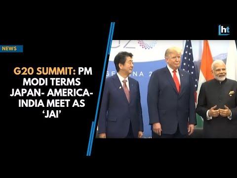 G20 Summit: PM Modi terms Japan- America-India meet as 'JAI'