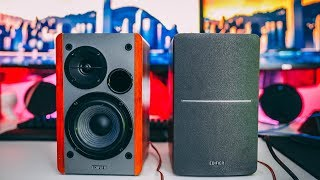 edifier R1280T review - The best speakers under 100? By TotallydubbedHD