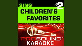 Ants Go Marching (Karaoke Instrumental Track) (In the Style of Children
