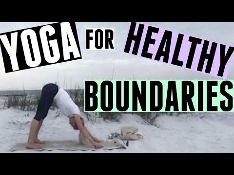 YOGA FOR HEALTHY BOUNDARIES!