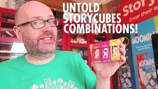 Combine your StoryCubes in Untold: Adventures Await!