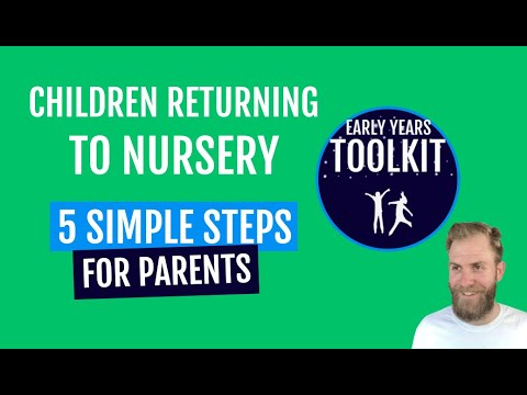 Children Returning To Nursery After Lockdown 5 Steps For Parents (2020) | Early Years Toolkit
