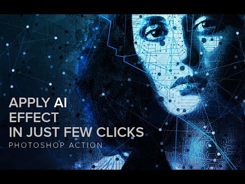 AI   Artificial Intelligence Photoshop Action Tutorial
