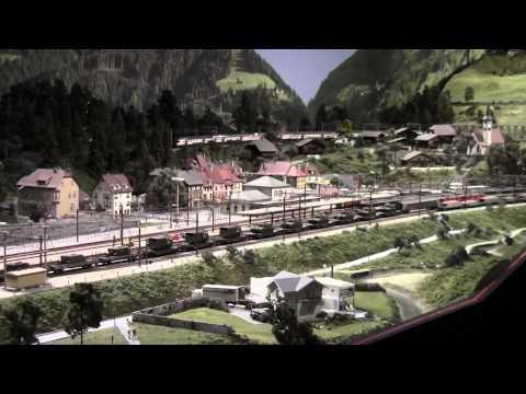 Trains HO de Kaeserberg Granges-Paccots   Fribourg   Suisse