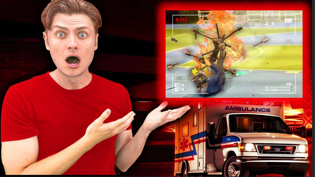 Full Hoverboard Crash Footage Aftermath (ft Hunter Kowald)
