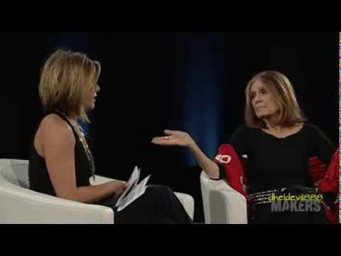 A short clip of Jennifer Aniston Interviewed Gloria Steinem At Feminist Makers Conference 2014