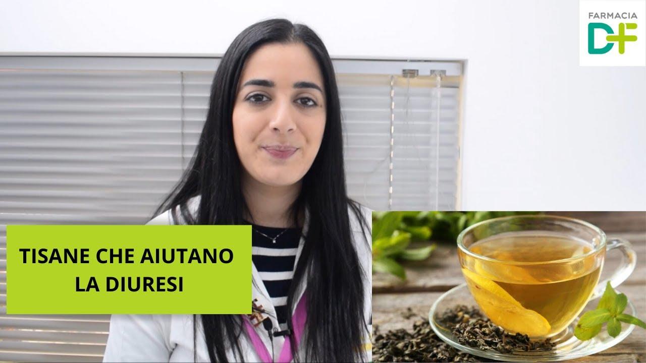 TISANE CHE AIUTANO LA DIURESI -- Farmacia De Florio - YouTube