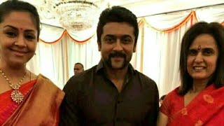Actor Surya Jothika Cute Family