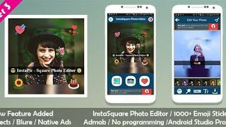 Sqaure Fit Size - College Maker Photo Editor Android 2020 screenshot 2