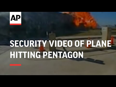 Security video of plane hitting Pentagon released, adds, S'bite from Judicial Watch