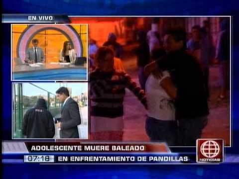 América Noticias: Pandilleros realizaron disparos durante transmisión en vivo de América Noticias