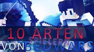10 ARTEN von BEDWARS SPIELERN