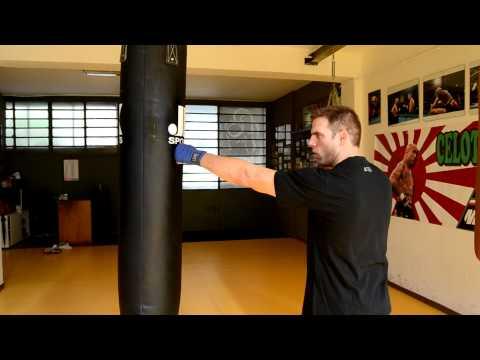 Come colpire sacco da Boxe - Tecniche di base. How to hit the heavy punching bag