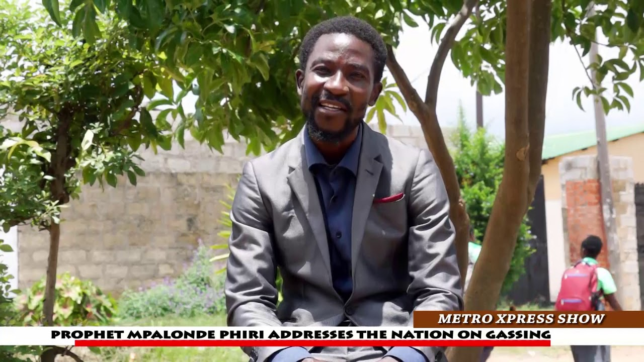 PROPHET MPALONDE PHIRI SPEAK OUT ON GASSING RESIDENTS IN ZAMBIA