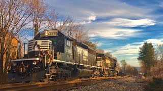 H74 Switching @ East Stroudsburg Feat. 3381 & Horn Salutes!