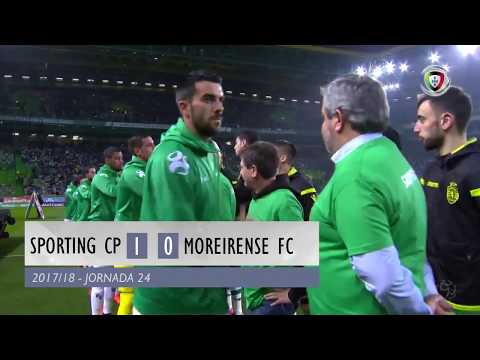 Sporting 1-0 Moreirense (Liga 24ª J): Resumo