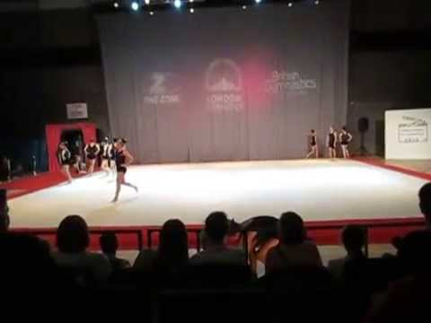 London Festival of Gymnastics-Shirley Sapphires